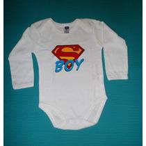 Body Para Bebé Superheroes