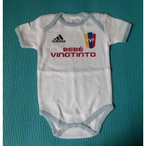 Body Para Bebé Futbol Venezuela Vinotinto