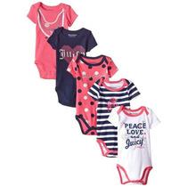 Bodys 5 Pack Tommy Hilfiger, Juicy Couture Originales Bebés