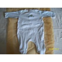 Monos Blancos Y Mangas Rallas Azul - Usados - Importado