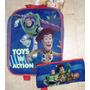 Toy Story Disney Bolso Morral Pequeno Con Cartuchera Origina