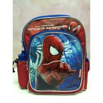 Mochila Morral Bolso Escolar Disney Spiderman