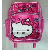 Hello Kitty Morral Maleta Peq C/ Brillo Escarchado Escolar