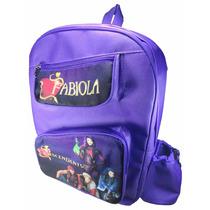 Bolso Morral Escolar Personalizado Violetta Descendientes