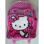 Hello Kitty Morral Maleta Grand C/ Brillo Escarchado Escolar