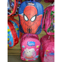 Bolso Morral Escolar Relieve Peppa Frozen Princesa Sofia Car