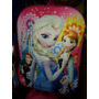 Bolso Morral Escolar Relieve Peppa Frozen Princesa Sofia
