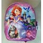 Princesa Sofia Disney Bolso Morral Mediano Escolar Orig