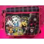 Bolso De Viaje Y Loncheras Monster High