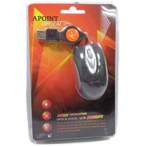 Mini Mouse Optico 800 Dpi Usb