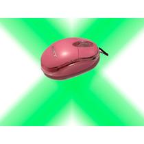 Mouse Sony Mini Rosado Usb Alambrico Usb Xcel