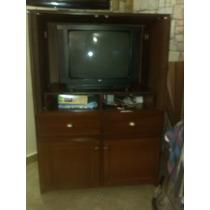 Mueble De Entretenimiento Tv 32 Blue Ray Cornetas Etc Usado
