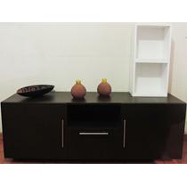 Mueble De Entretenimiento De Tv Moderno Con Cubos