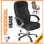Sillas Presidenciales Miami Piel Dell Office Nuevas Vac13