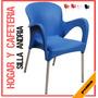 Sillas Andria Hogar Y Cafeteria Plasticas Polietileno