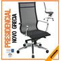 Sillas Novo Grecia Presidenciales Mesh Mobiliario Oficinas