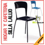 Sillas Hogar Cafeteria Lallio Deluxe Cafetines Cocinas