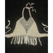 Top Tejido En Crochet Para Niña