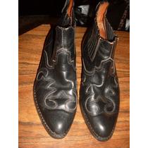 Botas Tipo Loblan Puro Cuero Marca American Shoes