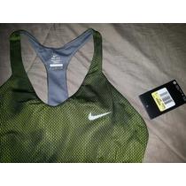 Top Nike Running Damas Negociable Remato T: S.100% Original