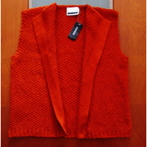 Sweater Chaqueta Chaleco Cardigan Tejido Express T L / Xl