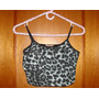 Crop Top Animal Print Talla M/l