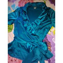 Camisa De Seda Anne Klein Talla M