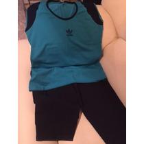 Mono Corto Y Camisa Conjunto Para El Gym De Gorditas Xl Plus