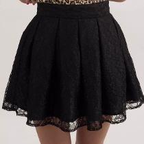 Falda Corte Princesa, Moda Asiatica