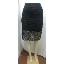 Faldas De Encaje Exclusivas Importadas A La Moda Para Fiesta