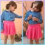Faldas Circulares Para Niña A La Moda