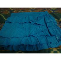 Mini Falda Con Bobos