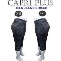 Pantalones Capri Talla Plus..xl-xxl-xxxl..!!