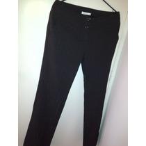 Pantalón De Vestir, Marca Locura, Color Negro, Talla 9