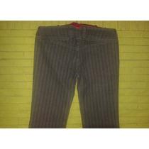 Pantalon Jean Dama Gris Plomo