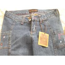 Blue Jean Semi Strech Dama Six Jeans Talla 5/6 Juvenil Nuevo
