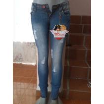 Jeans De Dama Fiorucci Alta Calidad 5-6