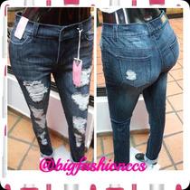 Pantalon Marca Chocolate Strech (jeans)