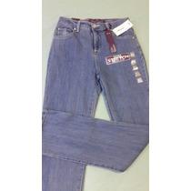 Pantalon Blue Jeans Original Dama Gloria Vanderbill Talla