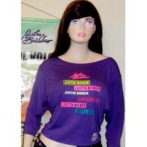 Justin Bieber Camisa Artistas Online Talla M Juvenil