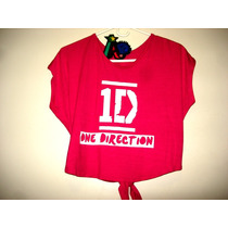 Camisa One Direction Talla S Y M Juvenil