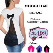 Blusas De Moda Americana De Miamy Al Mayor Y Detal!!..
