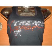 Franelillas, Camisetas Olimpicas Estampadas En Pedreria