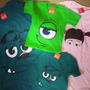 Franelas De Monsters Inc