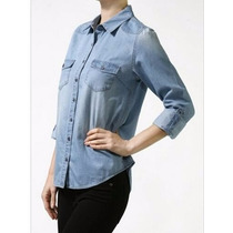 Camisas De Jean Americana Para Damas Desde S A 3xl