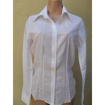 Camisa Blanca De Vestir Talla S
