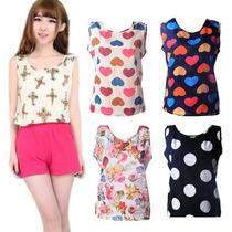 Blusas De Mujer, Moda Asiatica!! Talla Xs, S, M!!!