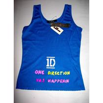 Camisa One Direction Talla L Juvenil Artistas Online
