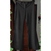 Pantalon Para Dama De Vestir Zara Elegante Stres Verde Negro