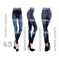 Leggins Tipo Jeans Ultimos Modelos Moda Mayor Y Detal Y Mas